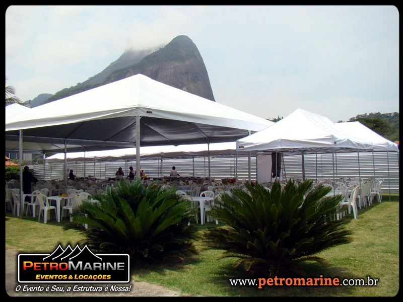 PetroMarine Eventos e Locações – Montagem de evento na Barra